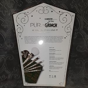 Pur Makeup - Grinch Brushes - PÜR